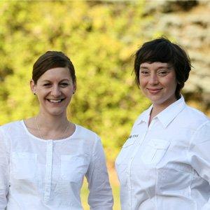 Maria Rehberger und Melanie Schneider